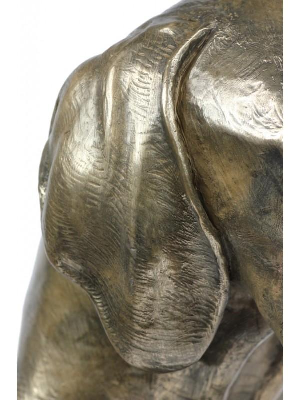 Bavarian Mountain Hound - figurine (bronze) - 171 - 22122