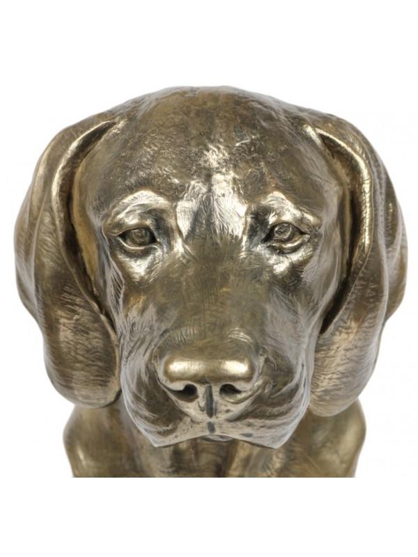 Bavarian Mountain Hound - figurine (bronze) - 171 - 22124