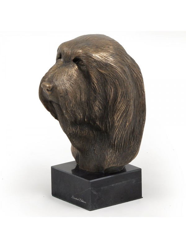 Bearded Collie - figurine (bronze) - 173 - 2819