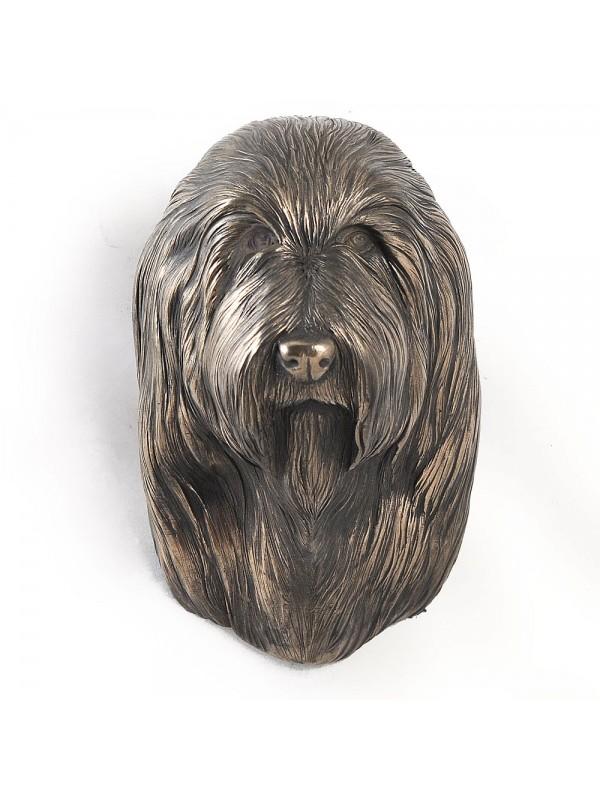 Bearded Collie - figurine (bronze) - 357 - 2462