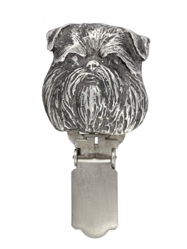 Belgium Griffon - clip (silver plate) - 294 - 26401