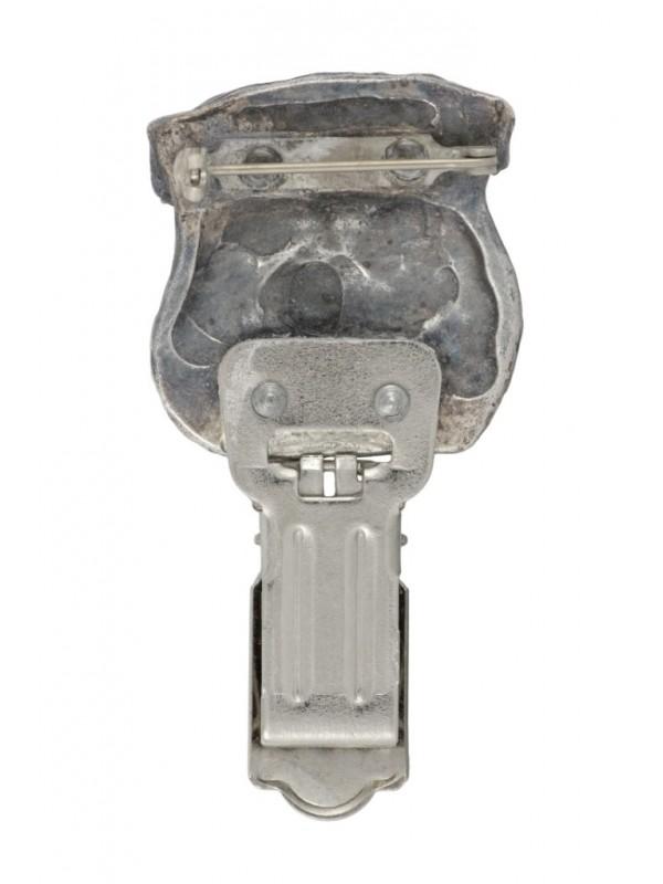 Belgium Griffon - clip (silver plate) - 294 - 26402