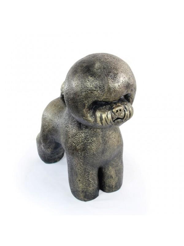 Bichon Frise - statue (resin) - 680 - 21594