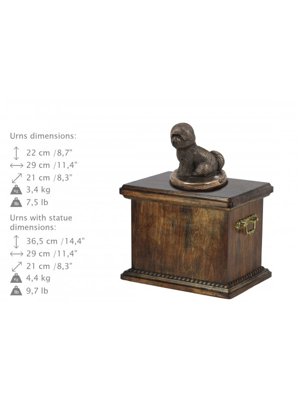 Bichon Frise - urn - 4029 - 38066