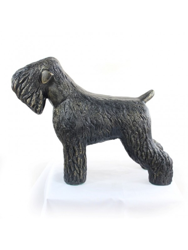 Black Russian Terrier - statue (resin) - 628 - 21606