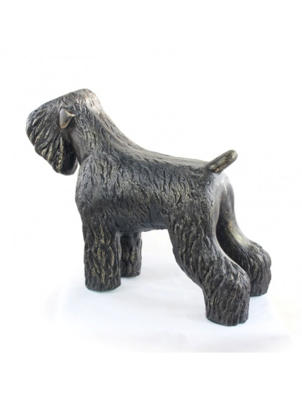 Black Russian Terrier - statue (resin) - 628 - 21607