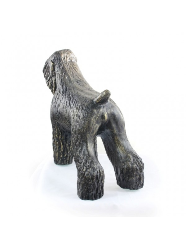 Black Russian Terrier - statue (resin) - 628 - 21608