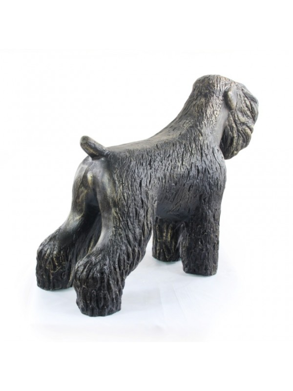Black Russian Terrier - statue (resin) - 628 - 21609