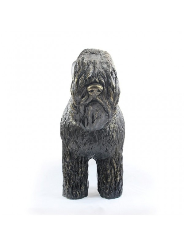 Black Russian Terrier - statue (resin) - 628 - 21611
