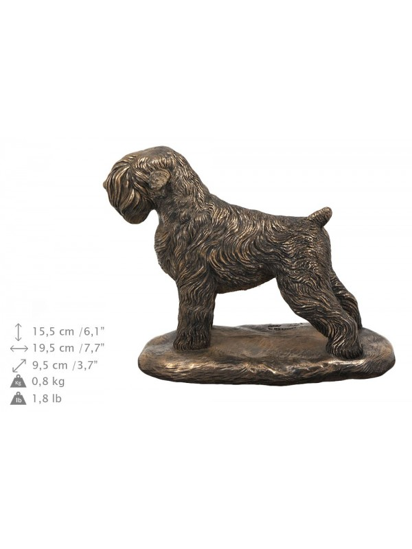 Black Russian Terrier - urn - 4030 - 38073