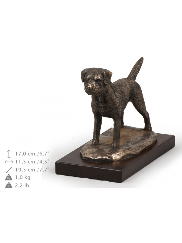 Border Terrier - figurine (bronze) - 579 - 8321
