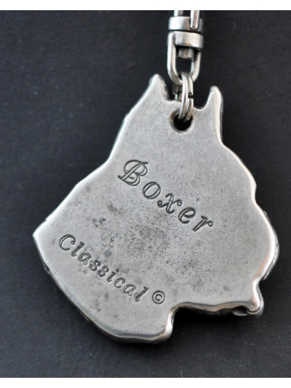 Boxer - keyring (silver plate) - 40 - 251