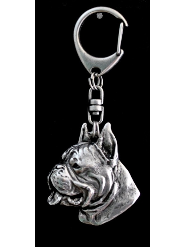 Boxer - keyring (silver plate) - 40 - 9261
