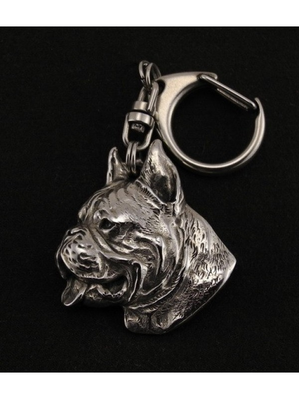 Boxer - keyring (silver plate) - 40 - 9263