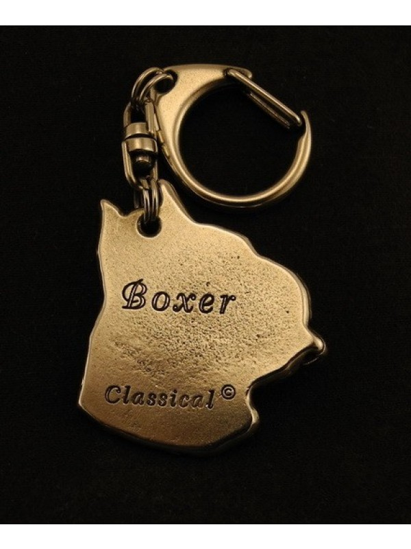 Boxer - keyring (silver plate) - 40 - 9264
