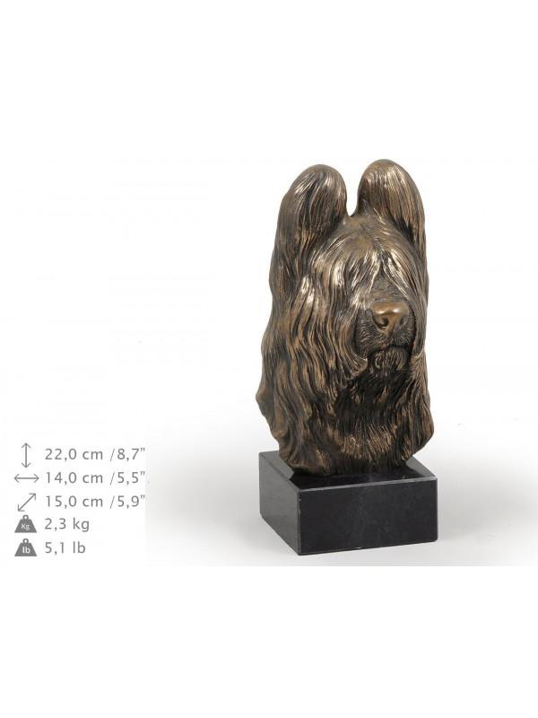 Briard - figurine (bronze) - 189 - 9117