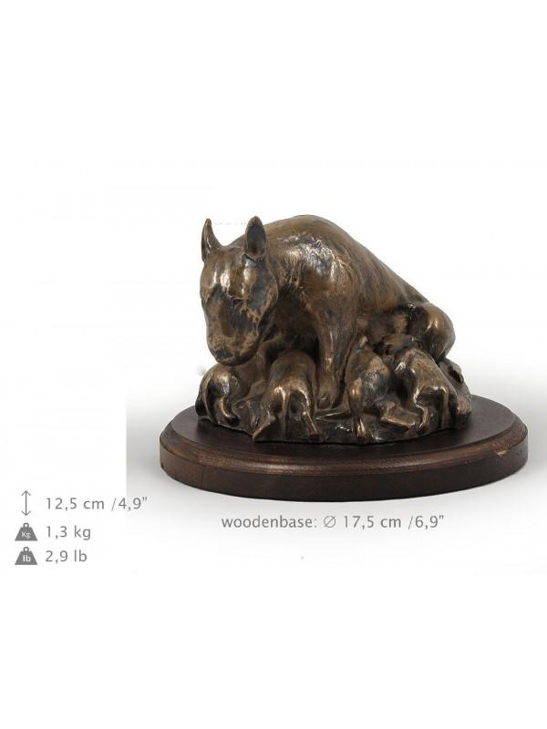 Bull Terrier - figurine (bronze) - 588 - 8328