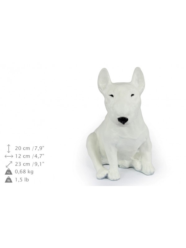 Bull Terrier - figurine (resin) - 349 - 16317
