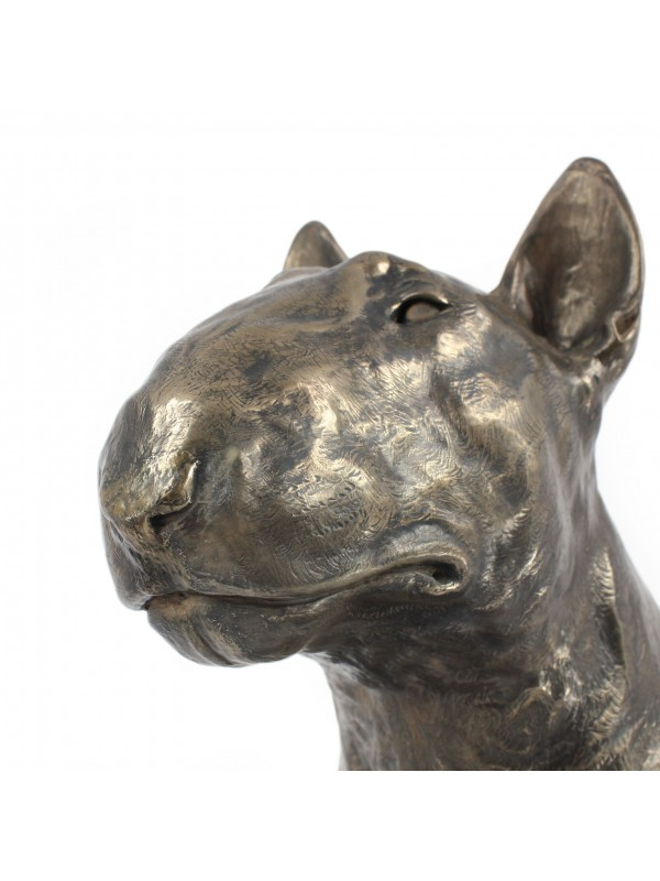 Bull Terrier - figurine (resin) - 672 - 7684