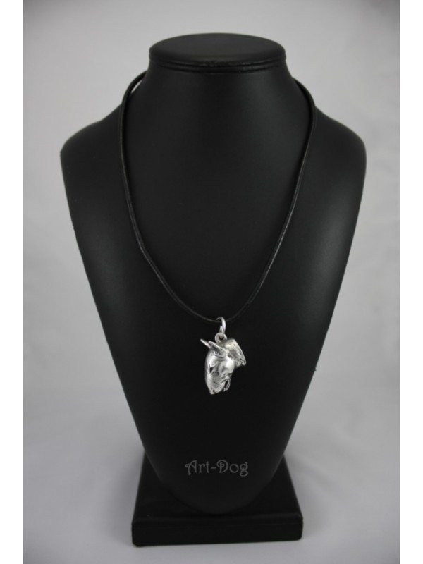 Bull Terrier - necklace (strap) - 157 - 731