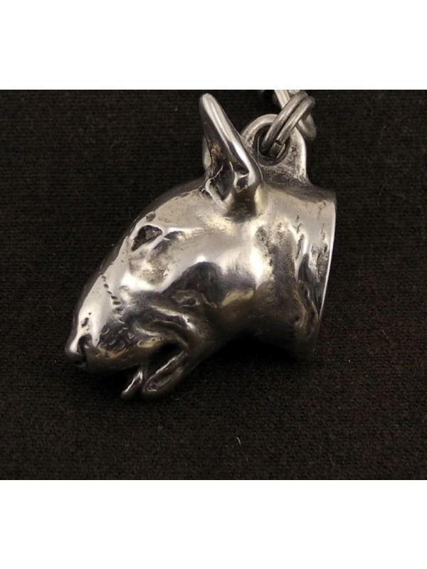 Bull Terrier - necklace (strap) - 157 - 733