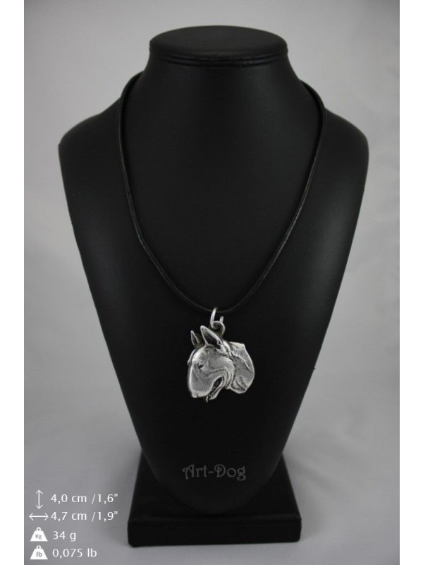 Bull Terrier - necklace (strap) - 346 - 9006