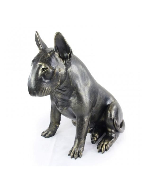 Bull Terrier - statue (resin) - 1511 - 21658