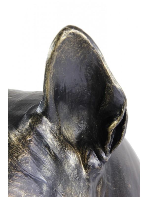 Bull Terrier - statue (resin) - 1511 - 21668