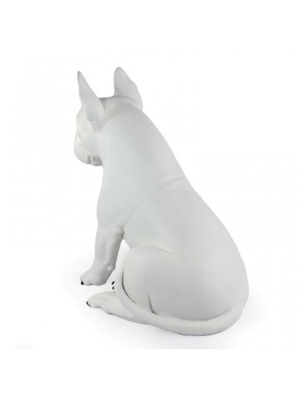 Bull Terrier - statue (resin) - 1511 - 21674