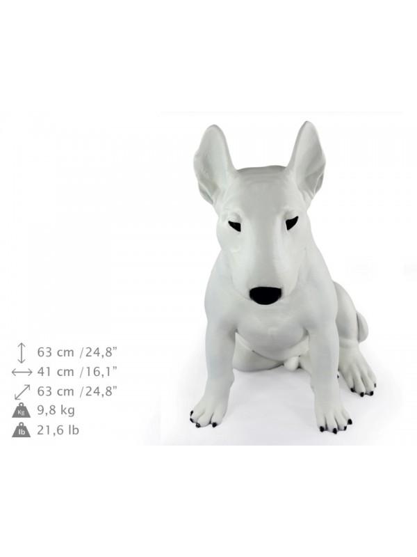 Bull Terrier - statue (resin) - 1511 - 21684