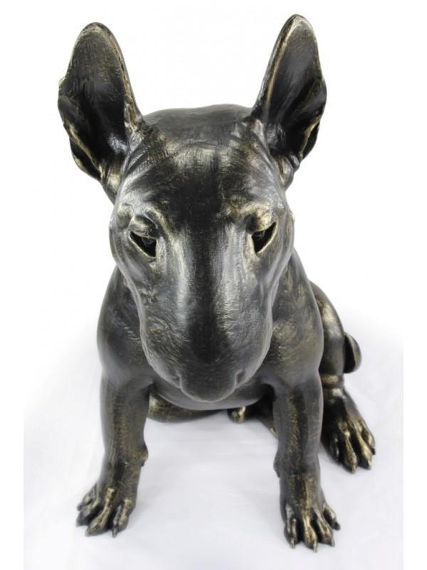 Bull Terrier - statue (resin) - 1511 - 21666