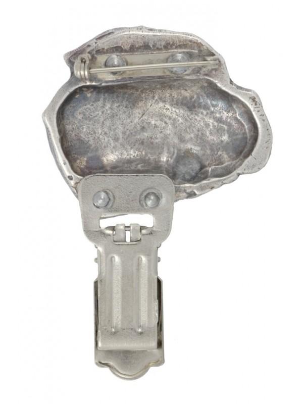 Bullmastiff - clip (silver plate) - 13 - 26186