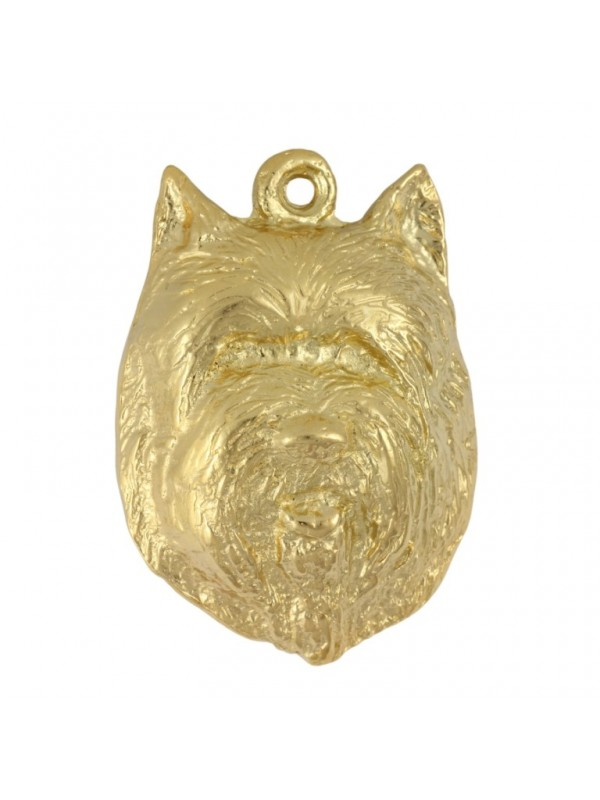 Cairn Terrier - keyring (gold plating) - 2884 - 30436