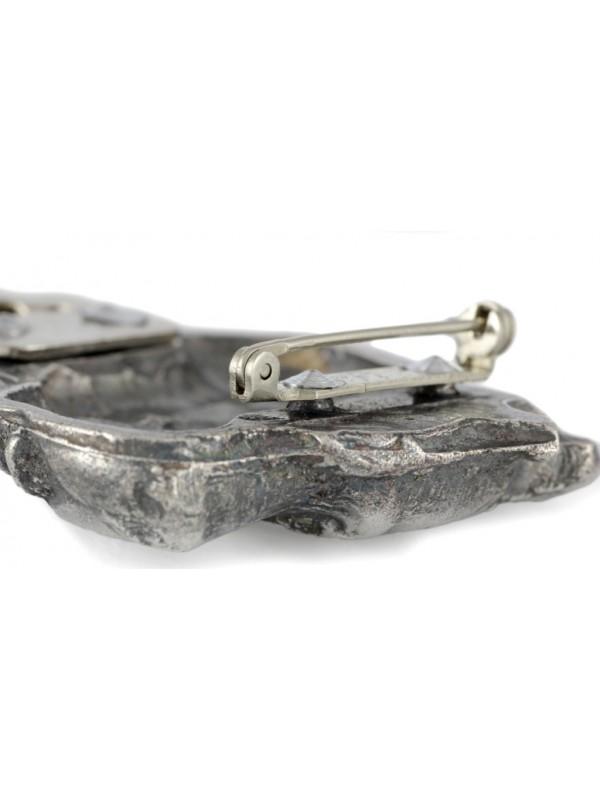 Cane Corso - clip (silver plate) - 289 - 26373