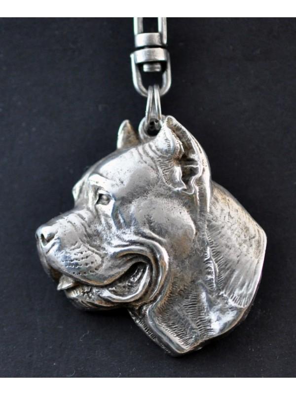 Cane Corso - keyring (silver plate) - 5 - 76