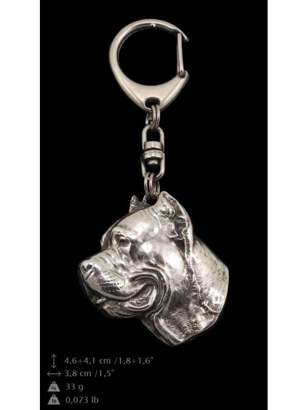 Cane Corso - keyring (silver plate) - 5 - 9201