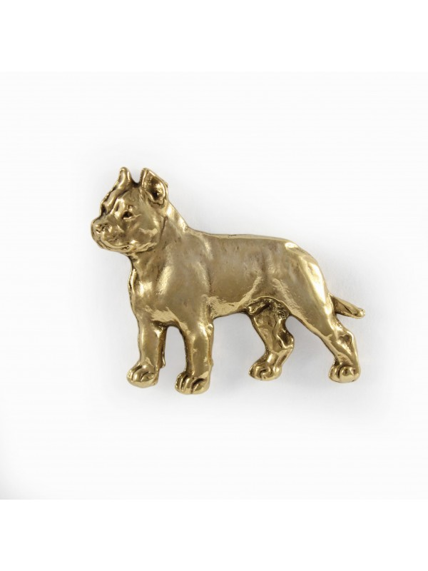 Cane Corso - pin (gold plating) - 1056 - 7735