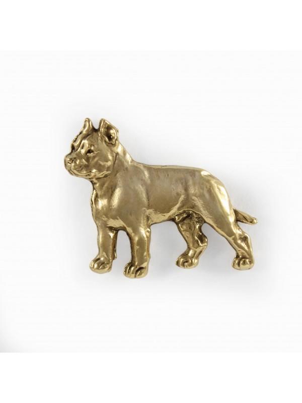 Cane Corso - pin (gold plating) - 1056 - 7735