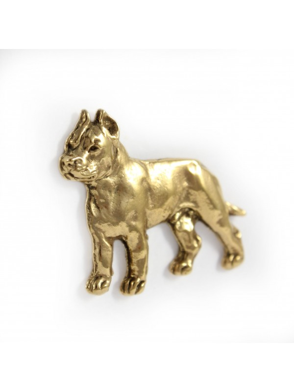 Cane Corso - pin (gold plating) - 1056 - 7736