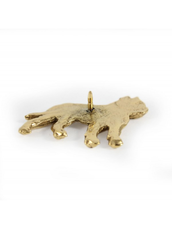 Cane Corso - pin (gold plating) - 1056 - 7737