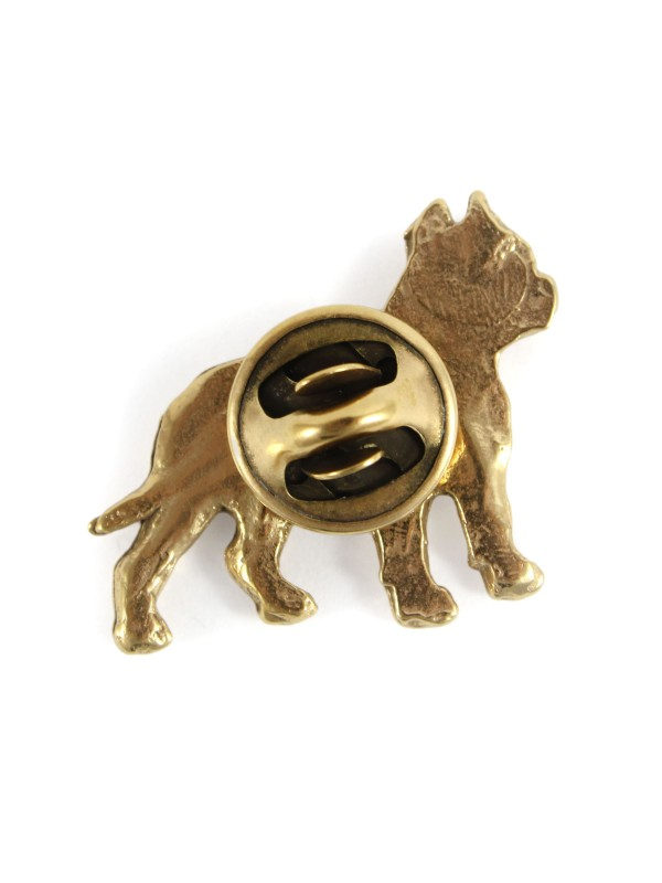 Cane Corso - pin (gold plating) - 1056 - 7738