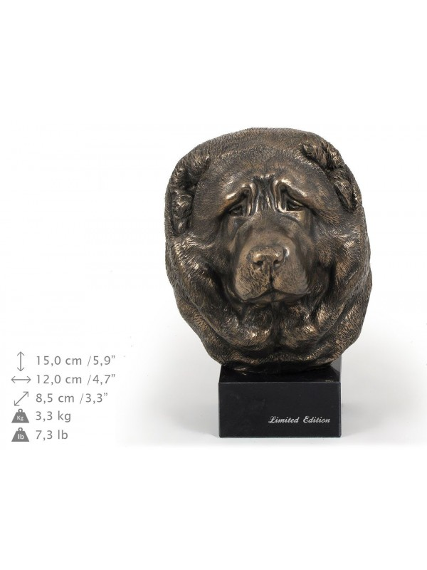 Caucasian Shepherd Dog - figurine (bronze) - 239 - 9154