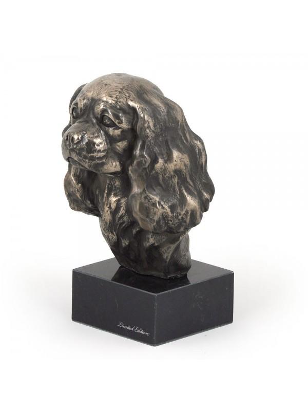 Cavalier King Charles Spaniel - figurine (bronze) - 196 - 7364