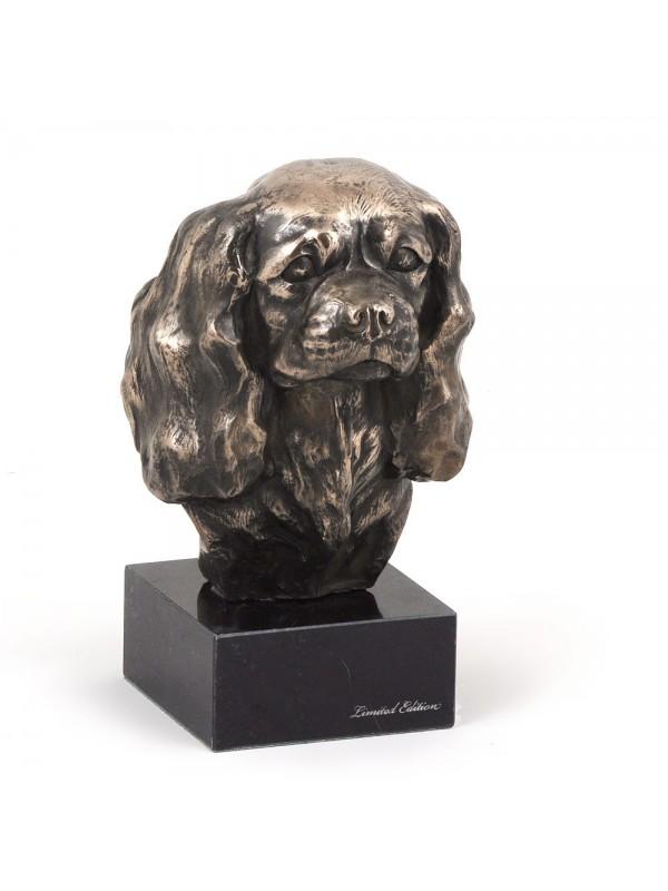 Cavalier King Charles Spaniel - figurine (bronze) - 196 - 7366