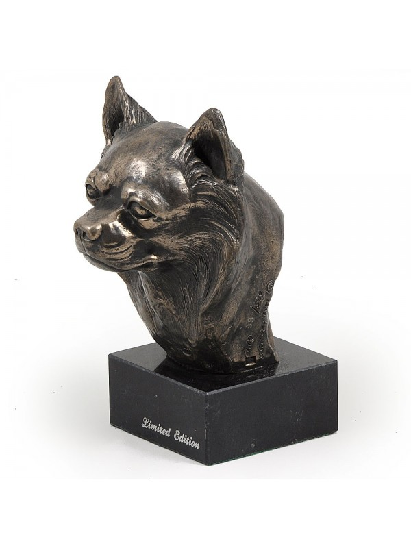 Chihuahua Long Coat - figurine (bronze) - 197 - 2859
