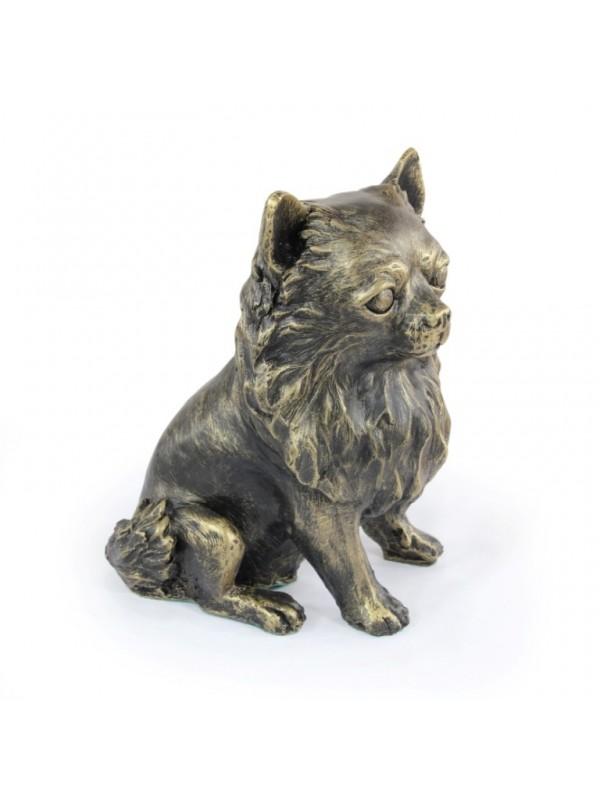 Chihuahua Long Coat - figurine (resin) - 676 - 16309