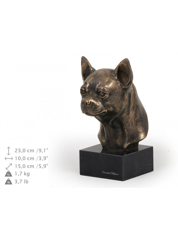 Chihuahua Smooth Coat  - figurine (bronze) - 198 - 9125