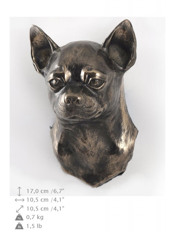 Chihuahua Smooth Coat  - figurine (bronze) - 4688 - 41867