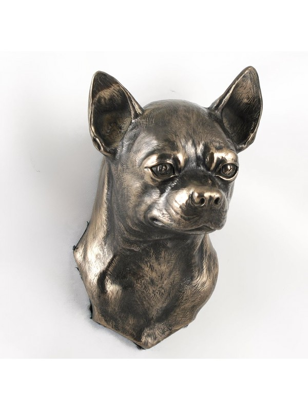 Chihuahua Smooth Coat  - figurine (bronze) - 4688 - 41868