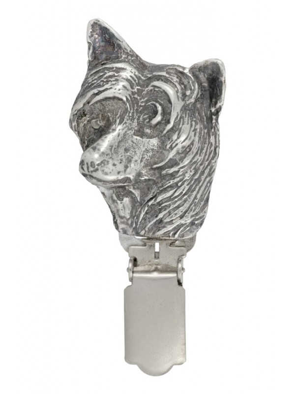 Chinese Crested - clip (silver plate) - 251 - 26234